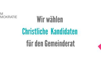 Kandidaten für christliche Werte – Wien-Wahl 11.10.