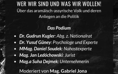Podiumsdiskussion – Genozid 1915
