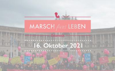 Marsch fürs Leben – 16.Oktober in Wien